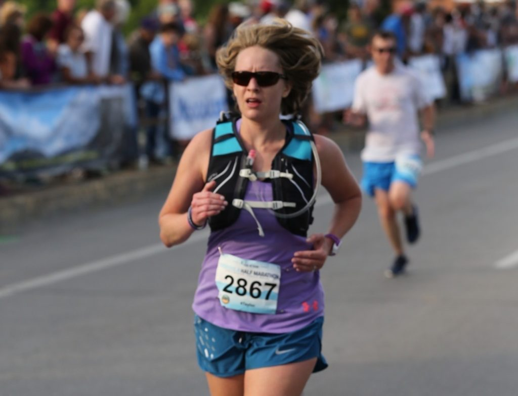 Missoula Marathon finish